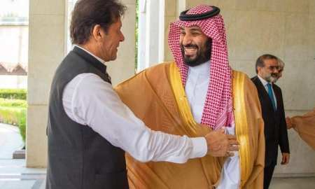 The Prime Minister Imran Khan of Pakistan met with the Crown prince MBS in Jeddah