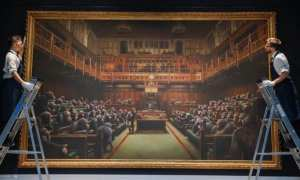 Banksy painting sells for record amount