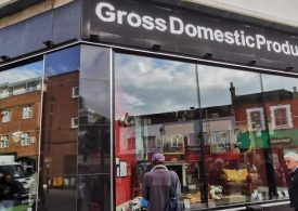 Banksy shop appears in Croydon