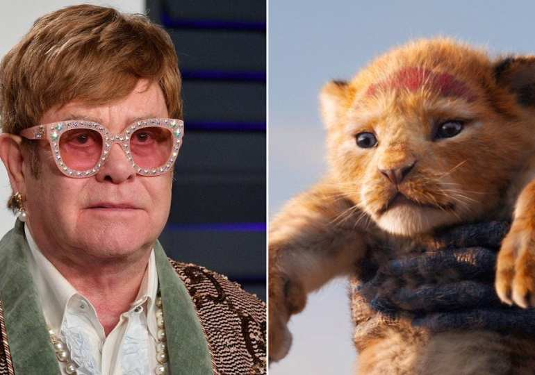 """Elton calls Disney's 2019 'Lion King' remake a """"huge disappointment"""""""