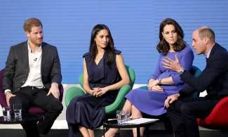 Fab four reunite: Prince Harry, Meghan Markel, Prince William and Kate Middleton become first royals to feature in an advert