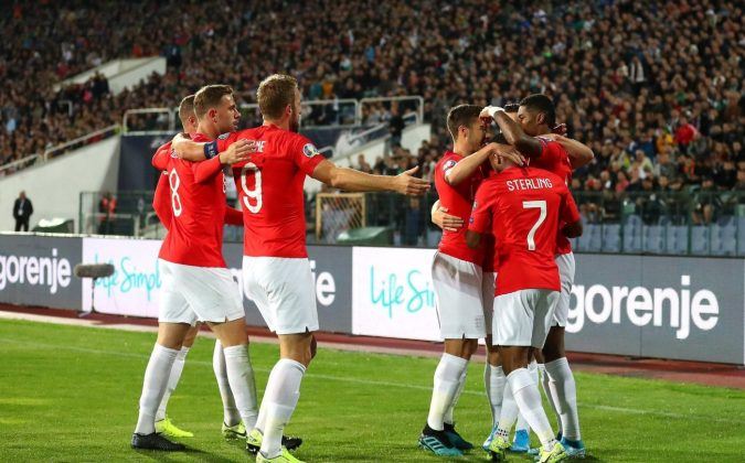 England Euro 2020 qualifier in Sofia halted twice over racist abuse