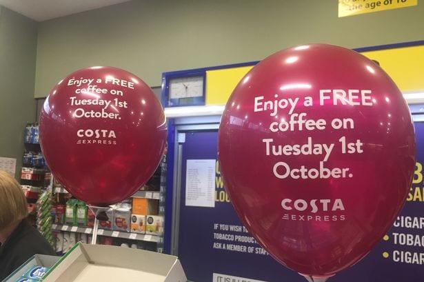 Free Costa coffee for everyone #Internationalcoffeeday