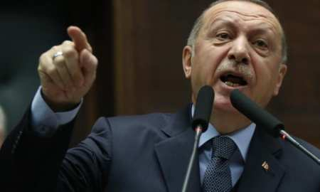 Turkish President Erdogan begins his incursion into Northern Syria