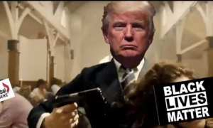 Trump violently attacks media figures in supporter's event meme: NYT