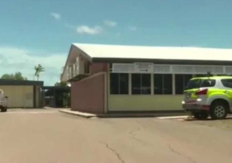 girl stabs teacher in Aust