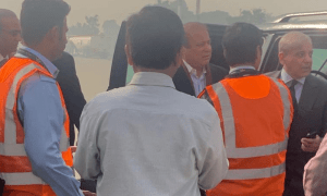 The former prime minister Nawaz Sharif will travel by air ambulance. Doctors also conducted blood tests prior to the departure.