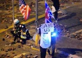 Hong Kong police crush protesters