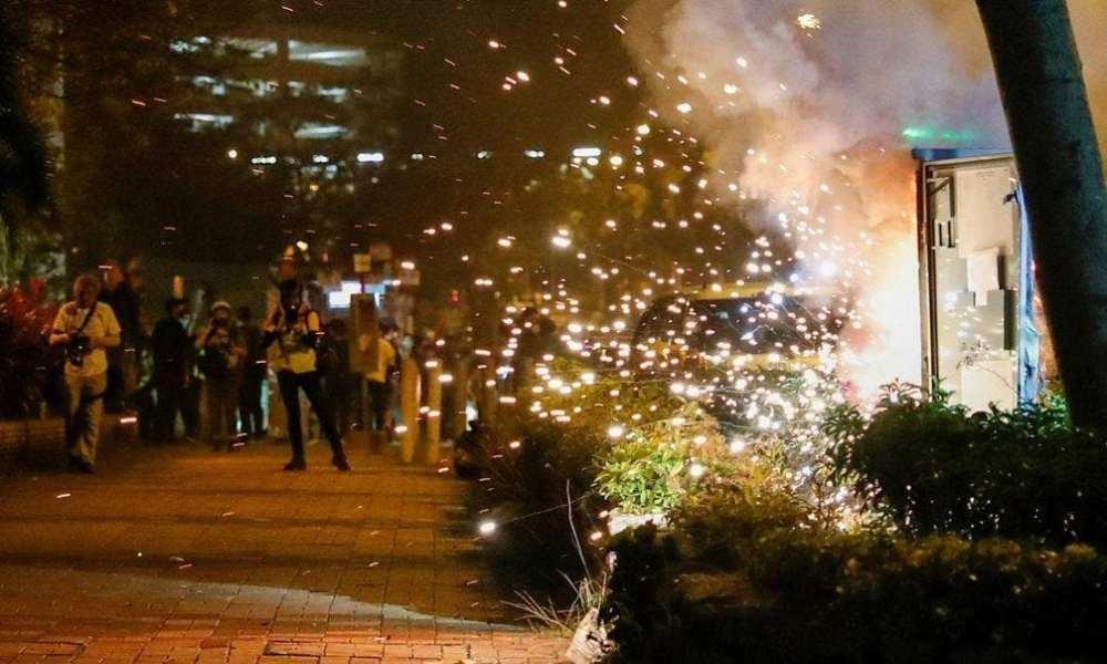 Hong Kong Protests - 1 shot