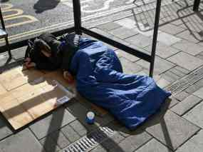 Over 1.1bn spent on temp tousing for homeless in one year