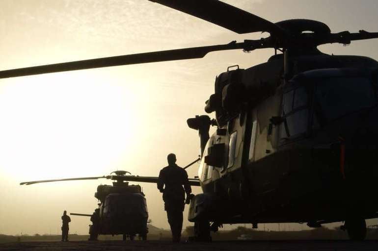 VIDEO: Thirteen French troops killed in Mali crash