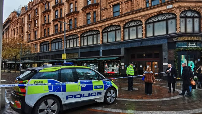Police on hunt for Harrods murderer
