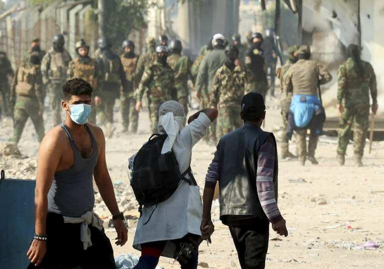 Iraq's striking students defiant amid unrelenting protests