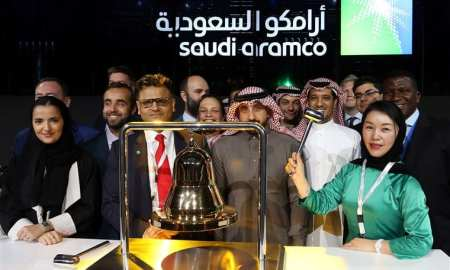 Saudi aramco-floats-mc-and gains a historic 10% on the first day of the launch