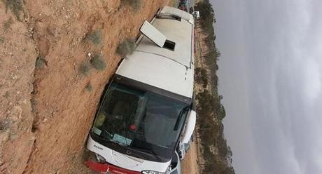 Tourist bus crash kills more than 20 in Tunisia