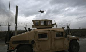 suicide bomber near medical base