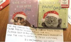 tescos christmas card factory in china forced to deny forced labour