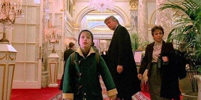 trump scene cut from home alone 2