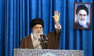 The Supreme leader in his first Friday prayer sermon in eight years