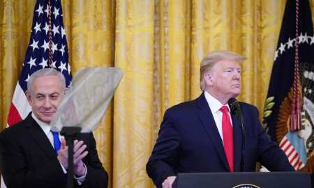 The Deal of the Century explained - The deal of the century explained - Trump and Netanyahu stand together at the Whitehouse to announce the creation of 'New #Israel' & the possibility of a future #Palestine