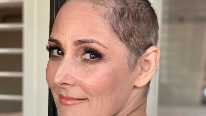ricki lake hair loss battle