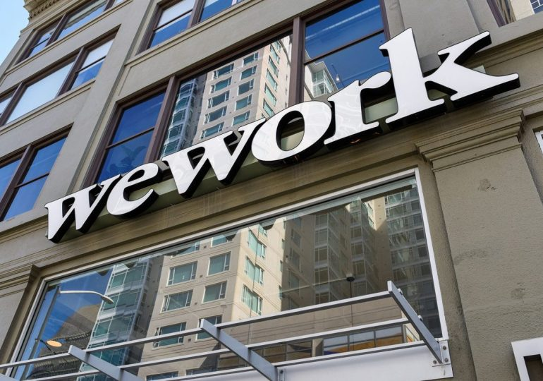 WeWork's leasing activity plunged 93%