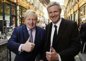 'Jobs for mates' - Boris appoints election loser Zac Goldsmith in Lords, raising racism concerns