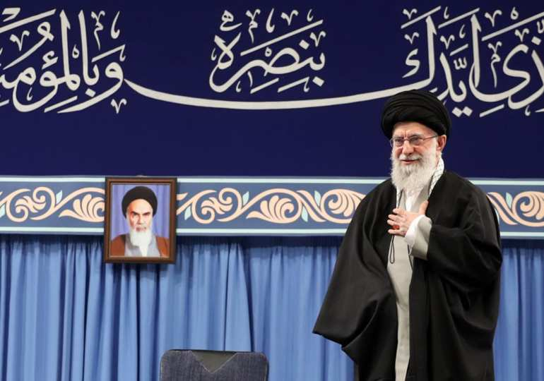 Khamenei says trump's peace plan will be dead before he is