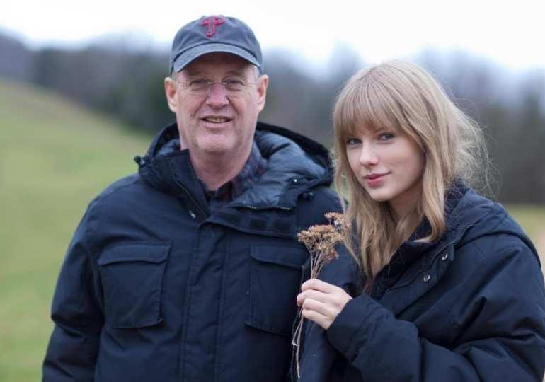 Taylors dad fight of burglar