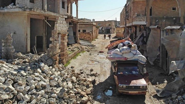 aid effort struggling amid Idlib offensive