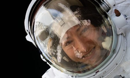 koch returns from space