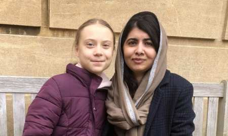 greta and malala meet