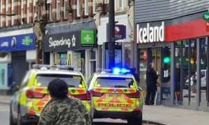 London's Metropolitan Police Service on Sunday said a man was shot by officers in a southern district.