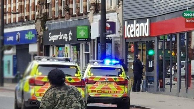 Breaking News: Streatham shooting - Man shot by police after stabbings in London