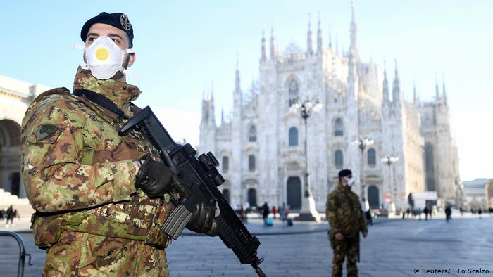 Italy on lockdown and Prime Minister places the North under quarantine