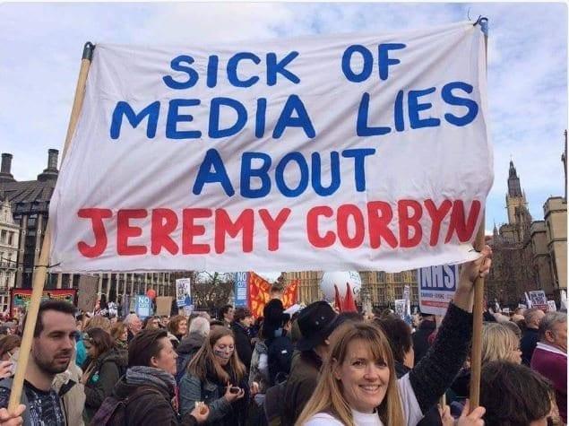 Jeremy Corbyn media abuse