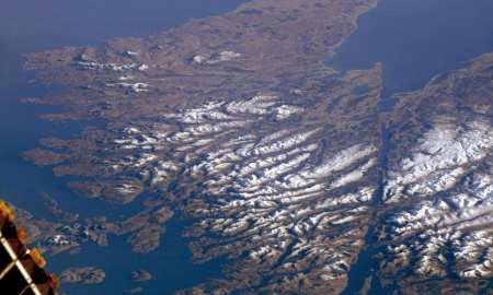 PIcture of the Week comes from NASA - who have shared this stunning shot of the Scottish Highlands from the International Space Station.