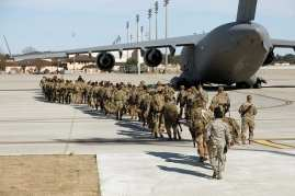 US troops leave afghanistan