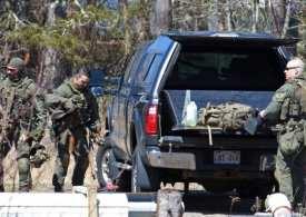 Canada shooting: Gunman 'dressed in police uniform' kills officer in rampage