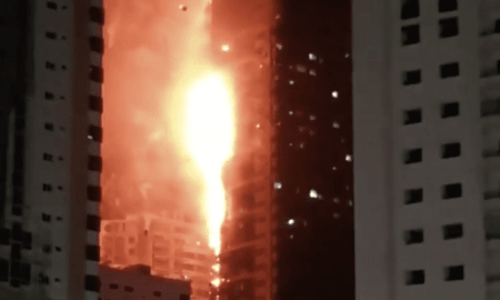 Breaking News: Fire erupts at residential tower in Sharjah