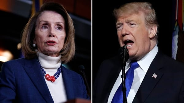Trump taking unproven drug hydroxychloroquine, as Nancy Pelosi fears for the 'morbidly obese' president