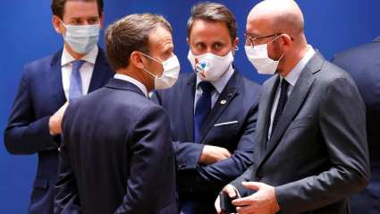 EU leaders adopt Covid-19 rescue package after marathon summit