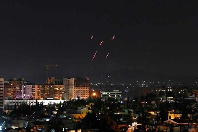 Israeli missiles attack kills 5 Syrians in Damascus