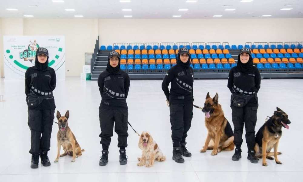 Results from the experiment in Dubai, indicate that dogs can quickly detect COVID-19 infected cases, to help protect key sites, effectively deal with huge crowds in public events