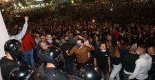 Serbia drops plans for reimposed lockdown after days of violent protests