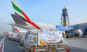 Dubai sends 24.88 tonnes of humanitarian aid to Beirut