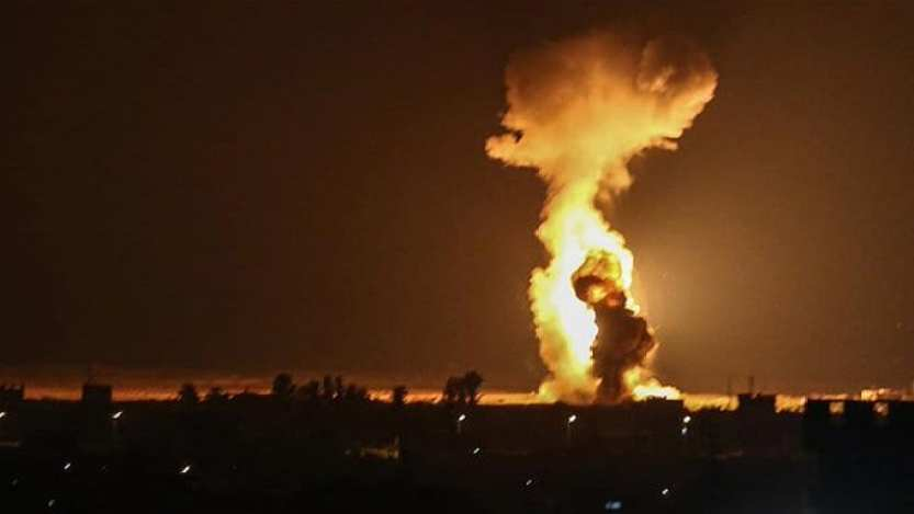 Israel launches new attacks on Hamas targets in Gaza