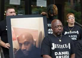 Black man died of asphyxiation after NY police used 'spit hood' and held him face-down for 2 minutes