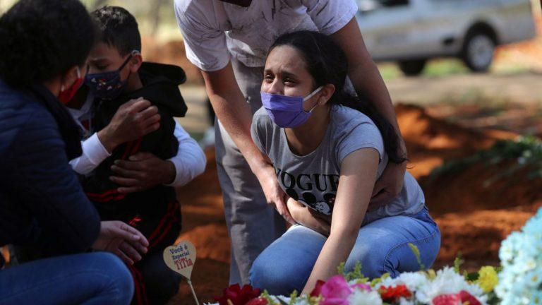 Brazil passes 4 million Covid-19 cases, amid tentative signs of virus easing