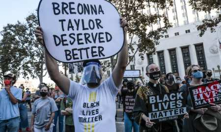 Breonna Taylor Protests erupt after officer charged but not over her death